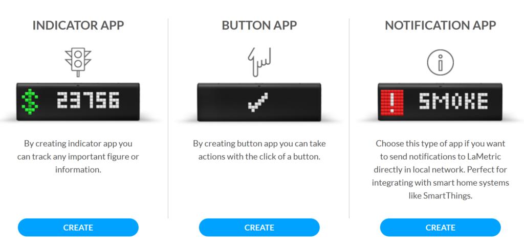 Apptypen Auswahl